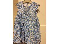 Jasper Conran blue floral dress 18-24 months £3