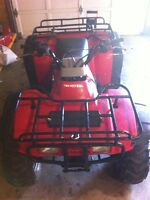 Honda Fourtrax 300 up for trade