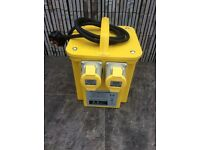 Transformer 110v 3.3KVA (BRAND NEW) can deliver