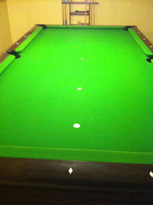 Fischer Questor vintage Pool Table, excellent condition London Ontario image 3