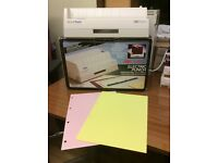 NEW - ELECTRIC PAPER PUNCH