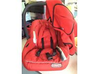Cosatto infant carrier, car seat
