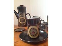 """Denby coffee set """"Arabesque"""""""