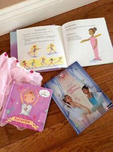 3 livres neufs sur sur le ballet + tutu