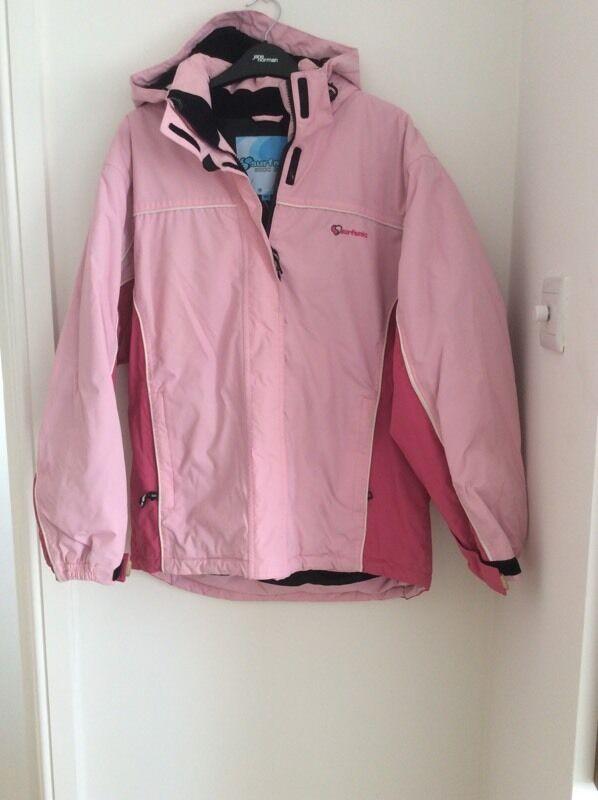 b4a7b51c8 Girls Surfanic pink ski jacket size 164