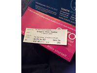 1 ticket - Gregory Alan isakov, mash house Edinburgh wed 29th march 2017