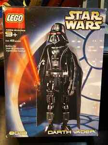 Retired Rare Star Wars Lego 8010Technic Darth Vader NISB