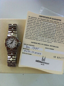 Raymond Weil Parsifal Stainless Steel Sapphire Watch Swiss Peterborough Peterborough Area image 4