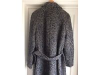 Vintage long AQUASCUTUM Coat 100% Wool