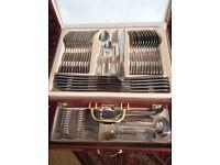 Beautiful 72 piece cutlery set