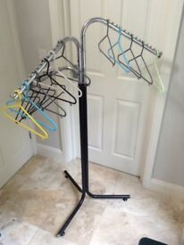 Clothing Rail & Hangers
