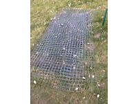 Welded mesh suit chicken run etc free to collector
