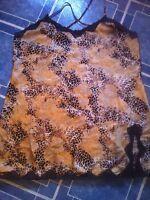 Leopard print nightgown