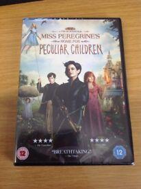 Tim Burton's Miss Peregrine's Home for Peculiar Children DVD - Brand New in Shrinkwrap