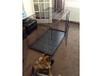 Large Dog Cage With Divider