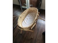 FREE wicker Moses Basket
