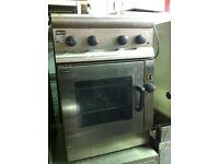 Lincat oven and on top cooker