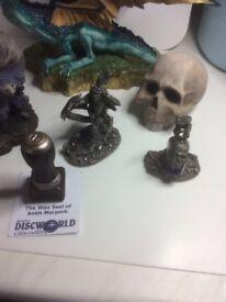 27 Items - Dragons and Skulls. Discworld by Terry Pratchett