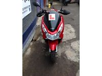 HONDA PCX 125 FOR SALE - LOW MILEAGE - GOOD CONDITION - RECENT SERVICE - STERLING BIKES