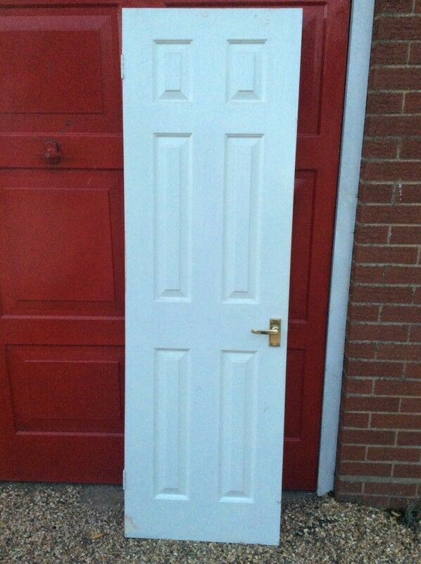 5 Internal Doors 6 Panel White In Felixstowe Suffolk Gumtree