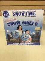 Snow shields