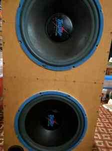 15 inch subs no amp 1500 watts