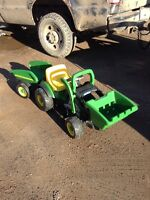 John deer peddle tractor