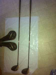 Maruman Gold Plated Fairway Golf Clubs $600pc or $1000 for both