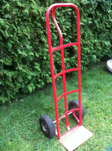 "Dolly Chariots en tube d'acier Steel Hand Truck Trolley 10"" Red"
