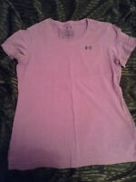 Purple under armour t-shirt