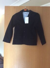Childs black blazer, bnwt