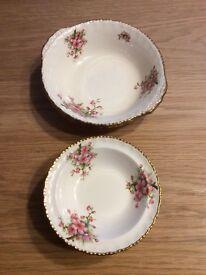 Vintage fruit bowl set