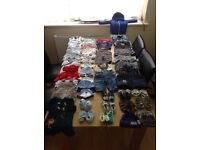 Tiny Baby, 0-3months & 3-6 months baby boys clothes.