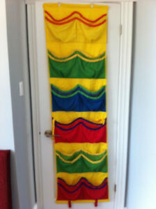 Over the door organizer - Extremely practical for children!