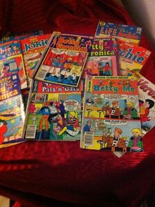 Nice Collection of 15 Archie Comics In Good Reading Condition.