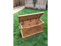 Pine Wooden Toy box