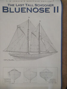 Bluenose Plans Poster