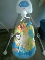 Fisher Price Jungle Theme Baby Swing