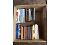 Box of Dance etc. CDs.