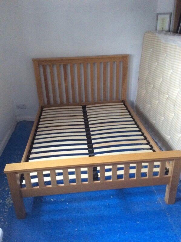 Good quality oak bed