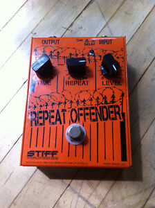 Repeat Offender Analog delay