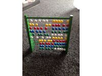 Wooden Abacus for sale.