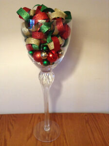 """24"""" Tall Champagne Glass – Perfect Condition"""