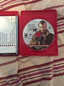Gta 4 for sale on the ps3