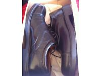 New hobos shoes size 7 leather