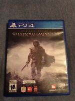 Middle Earth  Shadow of Mordor for PS4