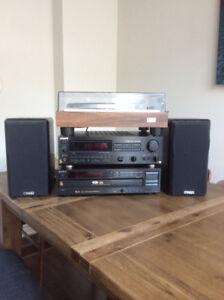 Stereo System, Vintage, Complete -1976