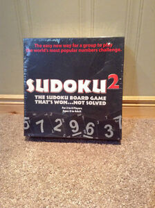 Sudoku2 game -unopened and original packaging!!!