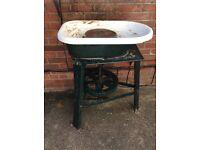 Vintage potters wheel