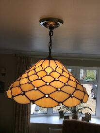 John Lewis Tiffany style light fitting